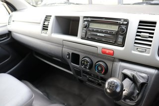 2005 Toyota HiAce TRH223R Commuter High Roof Super LWB Blue 5 speed Manual Bus