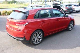 2020 Hyundai i30 PD.V4 MY21 N Line D-CT Premium Lava Orange 7 Speed Sports Automatic Dual Clutch.