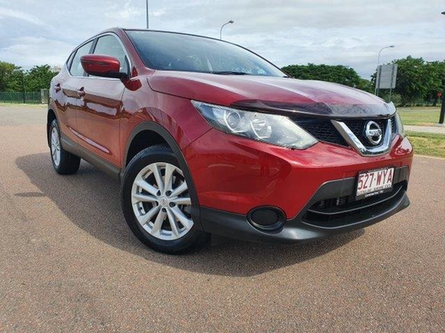 Used Nissan Qashqai J11 ST Townsville, 2016 Nissan Qashqai J11 ST Red 1 Speed Constant Variable Wagon