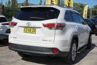 2016 Toyota Kluger GSU55R Grande AWD White 6 Speed Sports Automatic Wagon