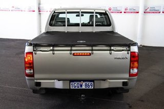 2009 Toyota Hilux GGN15R MY09 SR 4x2 Silver Metallic 5 Speed Automatic Utility