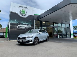 2020 Skoda Scala NW MY20.5 110TSI DSG Launch Edition Silver 7 Speed Sports Automatic Dual Clutch.