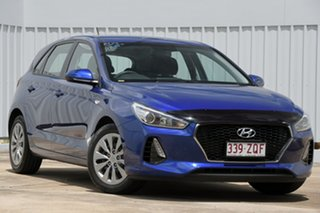 2018 Hyundai i30 PD MY19 Go Blue 6 Speed Sports Automatic Hatchback.