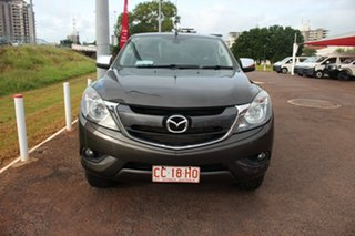 2015 Mazda BT-50 UP0YF1 XTR Grey 6 Speed Automatic Dual Cab Utility.