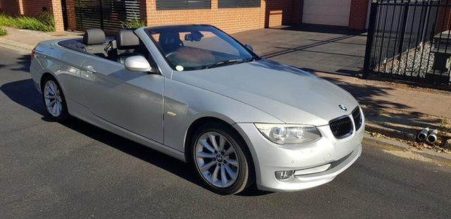 Used BMW 320d E93 MY10 Prospect, 2010 BMW 320d E93 MY10 Silver 6 Speed Auto Steptronic Convertible