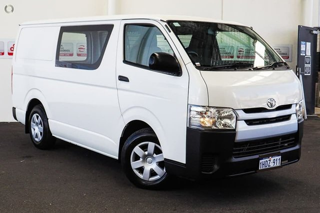 Pre-Owned Toyota HiAce KDH201R LWB Rockingham, 2016 Toyota HiAce KDH201R LWB French Vanilla 4 Speed Automatic Van