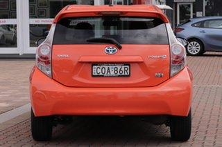 2013 Toyota Prius c NHP10R i-Tech E-CVT Sunrise 1 Speed Constant Variable Hatchback Hybrid