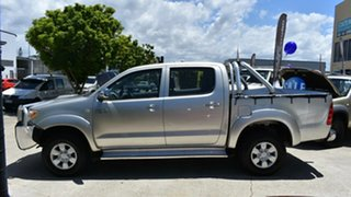 2005 Toyota Hilux KUN26R SR5 (4x4) Silver 5 Speed Manual Dual Cab Pick-up
