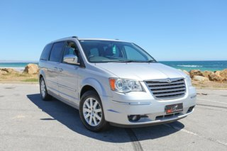 2010 Chrysler Grand Voyager RT 5th Gen MY10 Limited Silver 6 Speed Automatic Wagon.