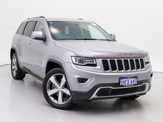 2013 Jeep Grand Cherokee WK MY14 Limited (4x4) Silver 8 Speed Automatic Wagon.