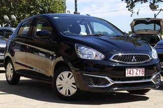 2019 Mitsubishi Mirage LA MY19 LS Black 1 Speed Constant Variable Hatchback.