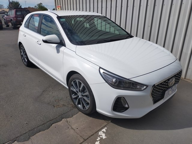 Used Hyundai i30 PD2 MY18 Elite Horsham, 2018 Hyundai i30 PD2 MY18 Elite 6 Speed Sports Automatic Hatchback