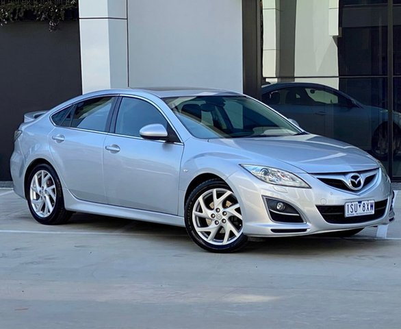 Used Mazda 6 GH1052 MY10 Luxury Sports Templestowe, 2010 Mazda 6 GH1052 MY10 Luxury Sports Silver 5 Speed Sports Automatic Hatchback