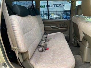 2001 Toyota Landcruiser Prado KZJ95R TX FullTime 4WD DR Gold 4 Speed Automatic Wagon