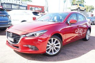 2017 Mazda 3 BN MY17 SP25 GT Red 6 Speed Automatic Hatchback.