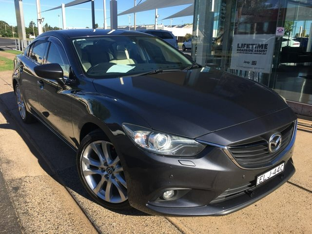 Used Mazda 6 GJ GT Dubbo, 2013 Mazda 6 GJ GT Grey Sports Automatic