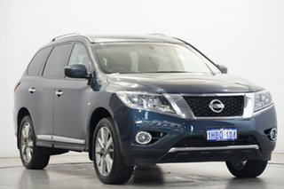 2017 Nissan Pathfinder R52 Series II MY17 Ti X-tronic 4WD Blue 1 Speed Constant Variable Wagon