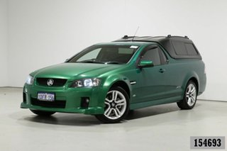 2008 Holden Commodore VE SS Green 6 Speed Manual Utility.