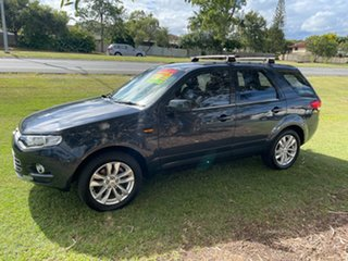 2011 Ford Territory SZ TS Seq Sport Shift Blue 6 Speed Sports Automatic Wagon