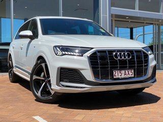 2020 Audi Q7 4M MY21 50 TDI Tiptronic Quattro S Line 8 Speed Sports Automatic Wagon.