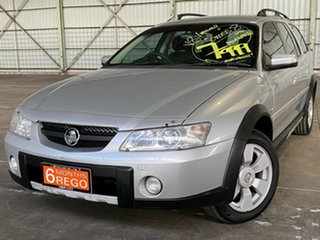2004 Holden Adventra VZ (VY II) CX8 Silver 4 Speed Automatic Wagon.