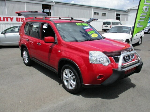 Used Nissan X-Trail ST 2WD Woodridge, 2011 Nissan X-Trail ST 2WD Red 5 Speed Manual Wagon