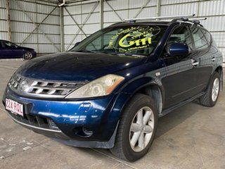 2005 Nissan Murano Z50 TI Blue 6 Speed Constant Variable Wagon.