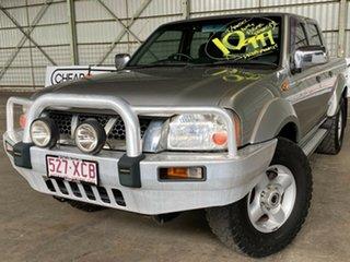 2006 Nissan Navara D22 S2 ST-R Silver 5 Speed Manual Utility.
