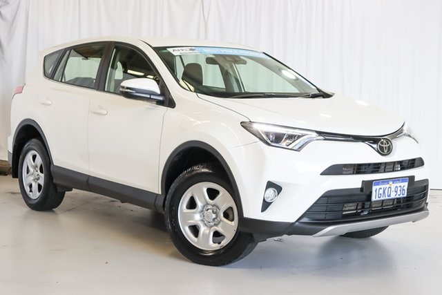 Used Toyota RAV4 ZSA42R GX 2WD Wangara, 2017 Toyota RAV4 ZSA42R GX 2WD White 7 Speed Constant Variable Wagon