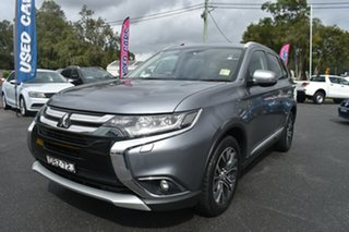 2015 Mitsubishi Outlander ZK MY16 Exceed 4WD Silver 6 Speed Sports Automatic Wagon