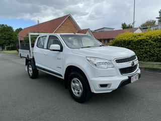 2014 Holden Colorado RG LS White 6 Speed Manual Dual Cab