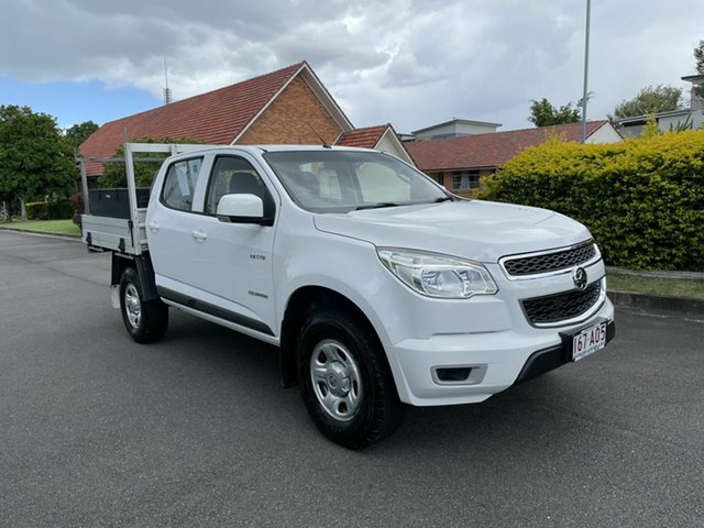 Used Holden Colorado RG LS Chermside, 2014 Holden Colorado RG LS White 6 Speed Manual Dual Cab