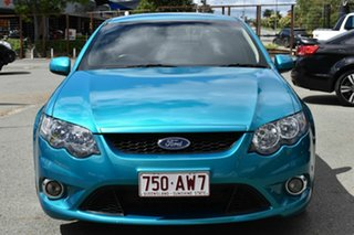 2008 Ford Falcon FG XR6T Green 6 Speed Auto Seq Sportshift Sedan.