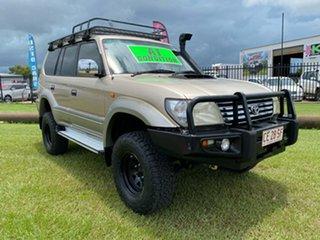 2001 Toyota Landcruiser Prado KZJ95R TX FullTime 4WD DR Gold 4 Speed Automatic Wagon.