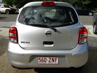 2012 Nissan Micra K13 ST-L Silver 5 Speed Manual Hatchback.