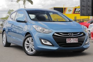 2013 Hyundai i30 GD SE Coupe Aqua Blue 6 Speed Sports Automatic Hatchback.