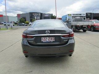 2019 Mazda 6 GL1033 Atenza SKYACTIV-Drive Machine Grey 6 Speed Sports Automatic Sedan.
