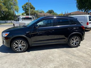 2015 Mitsubishi ASX XB MY15.5 XLS 2WD Black 6 Speed Constant Variable Wagon
