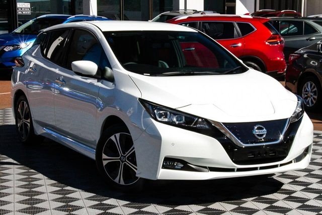 New Nissan Leaf ZE1 Melville, 2020 Nissan Leaf ZE1 Arctic White 1 Speed Automatic Hatchback