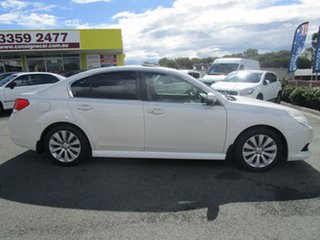 2011 Subaru Liberty B5 MY12 3.6R AWD Premium White 5 Speed Sports Automatic Sedan