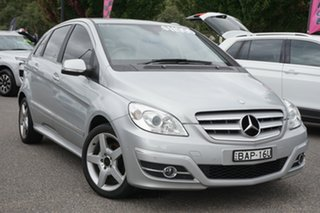 2010 Mercedes-Benz B-Class W245 MY10 B180 Silver 1 Speed Constant Variable Hatchback.