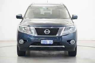 2017 Nissan Pathfinder R52 Series II MY17 Ti X-tronic 4WD Blue 1 Speed Constant Variable Wagon.