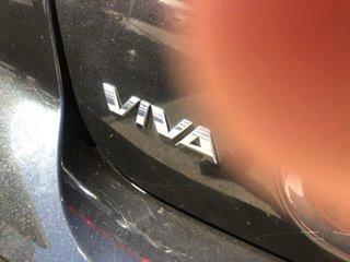 2006 Holden Viva JF Black 5 Speed Manual Hatchback