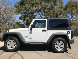 2012 Jeep Wrangler JK MY2012 Sport White 6 Speed Manual Softtop