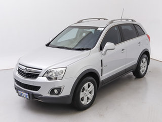 2012 Holden Captiva CG MY12 5 (4x4) Silver, Chrome 6 Speed Automatic Wagon
