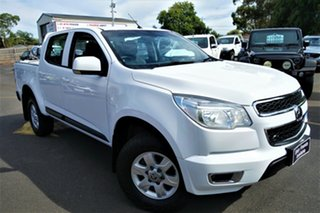 2015 Holden Colorado RG MY15 LT Crew Cab 4x2 White 6 Speed Sports Automatic Utility.
