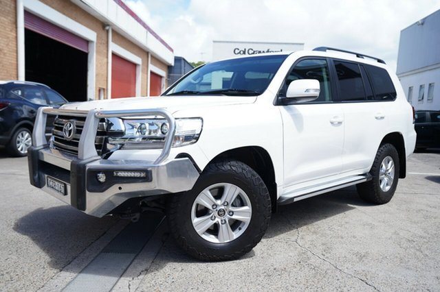 Used Toyota Landcruiser VDJ200R GXL Narrabeen, 2016 Toyota Landcruiser VDJ200R GXL White 6 Speed Sports Automatic Wagon