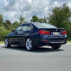 2012 BMW 320d F30 MY0812 320d Blue 8 Speed Sports Automatic Sedan