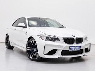 2017 BMW M2 F87 MY18 White 7 Speed Auto Dual Clutch Coupe.