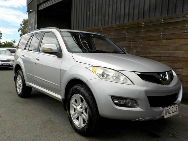 Used Great Wall X240 CC6461KY Labrador, 2011 Great Wall X240 CC6461KY Silver 5 Speed Manual Wagon